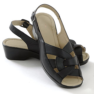 ISL Shoes Sandal Lilly, sort