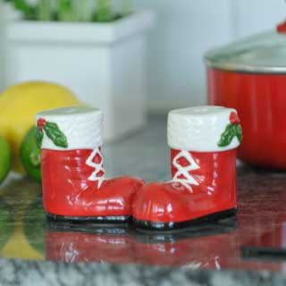 Salt & pepperbøsser Jul