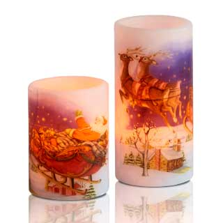 LED Kubbelys Christmas mood