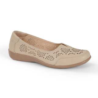 ISL Shoes Damesko Lara, beige