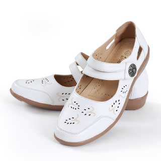 ISL Shoes Damesko Veronica, hvit