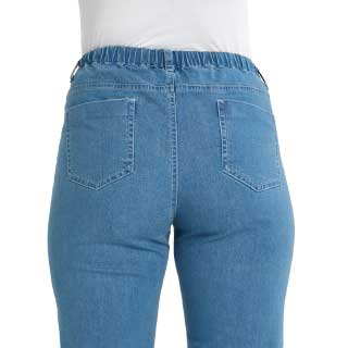 Stretchjeans Denim, lys blå