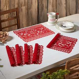 Bordbrikker Christmas joy