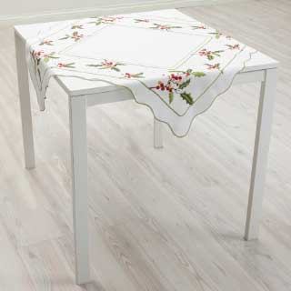 Mira design Duk Holly, hvit