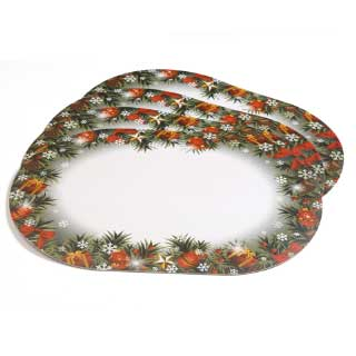 Bordbrikker Christmas deco
