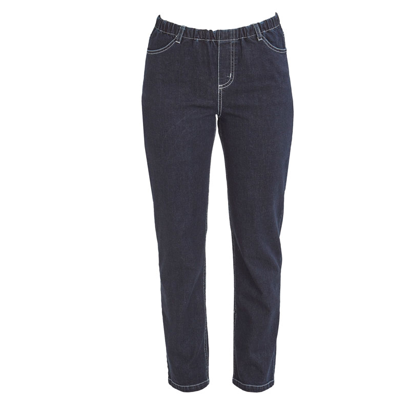 Stretchjeans Denim, mørk blå